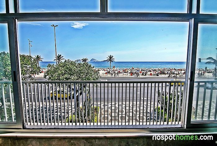 Apartment with beautiful beach view in Ipanema - Rio de Jane