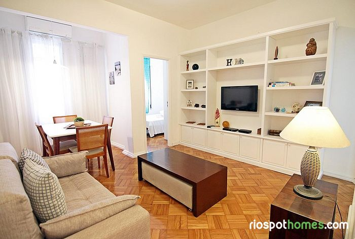 Best choice! Apartment in Posto 6, near the of Copacabana an