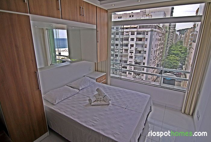 Renovated apartment on the block of Copacabana beach